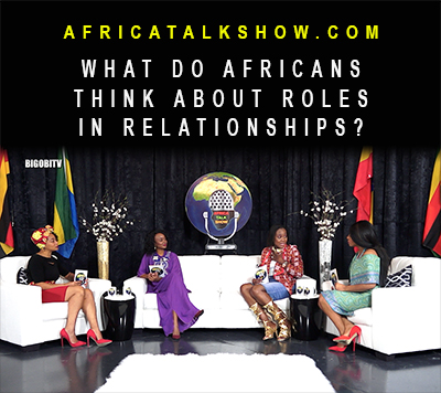 What do Africans think about Roles in relationships?